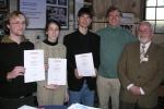 """Preisträger Regionalwettbewerb """"Jugend forscht"""" 2008"""
