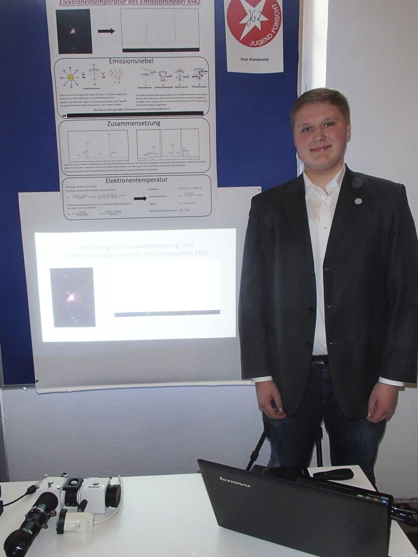 Axel Könekamp - Spektroskopie Orion-Nebel