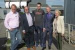 Die Schulleitung mit Tobias Gerbracht, Michael Winkhaus und Karl Schröder