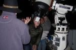 Die Astronomiestation sorgte für Begeisterung
