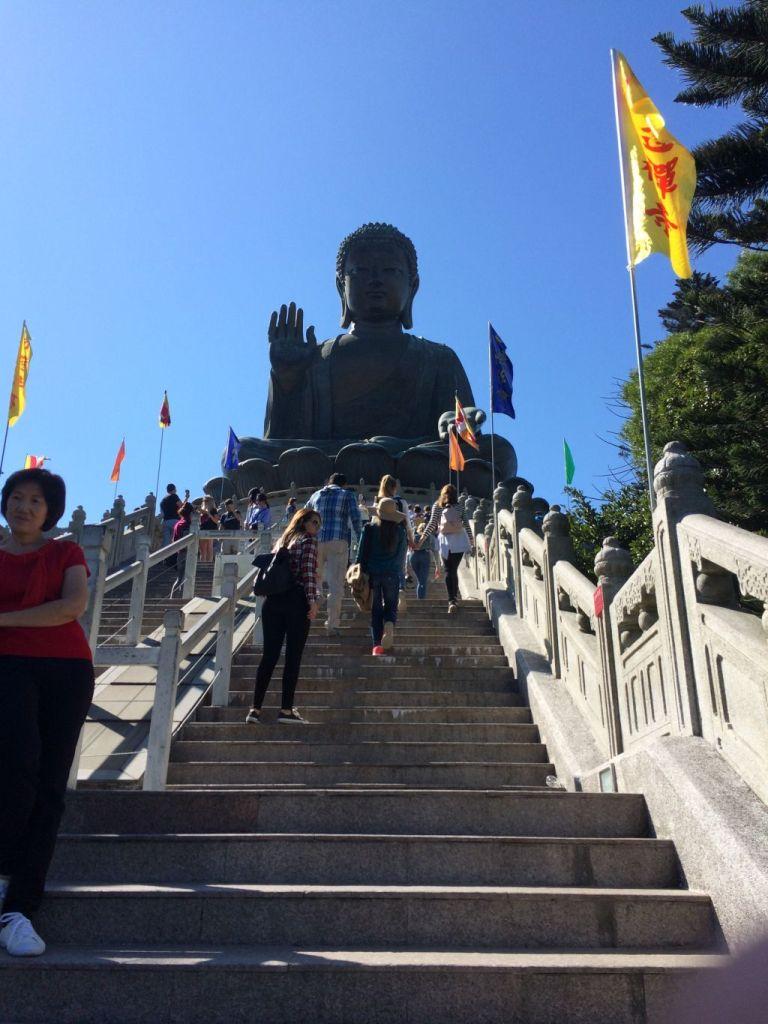 Big Buddah auf Lantau Island