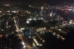 Hong Kong aus dem 100. Stockwerk