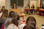 OB Andreas Mucke stellt sich den Fragen der Schüler