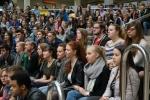 Das Publikum kam von mehreren Wuppertaler Gymnasien