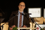 Grußwort der Französischen Botschaft durch den Attaché für Sprache und Bildung vom Institut français, Mark-Alexander Schreiweis, Foto: hw