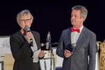Die Moderatoren Barbara Wyneken und Werner Meyer, Foto: red