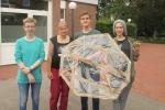 Gruppenbild mit unserer Konstruktion