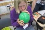 Ein Luftballon als Antriebstechnik