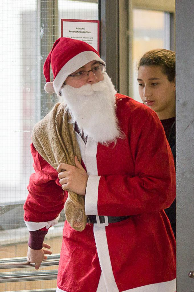 Christmas Challenge der 5. Klassen