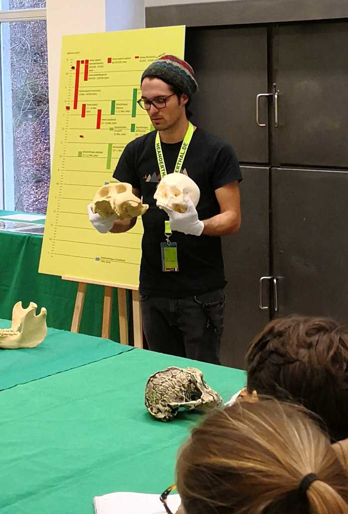 Till Knechtges, Leiter Abteilung Bildung und Vermittlung im Neanderthal Museum