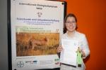 Katharina Tscheu wurde für ihr hervorragendes Ergebnis bei der IBO 2018 ausgezeichnet
