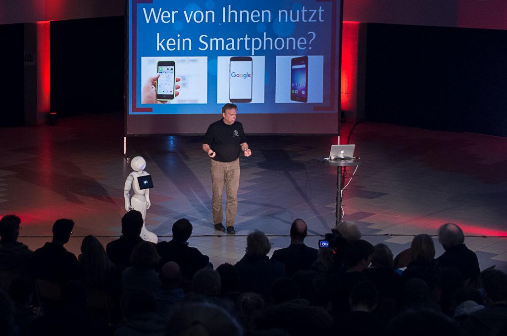 Jörg Heynkes berichtete von den Chancen des digitalen Wandels.