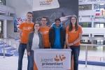Die Regionalrunde von Jugend Präsentiert am CFG wurde von zahlreichen Helfern - Schülern und Lehrern - unterstützt.