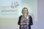 Rebecca Wilbertz von Jugend Präsentiert führte in das Wettbewerbsprogramm ein.