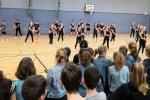 Choreografie beim Tanzwettbewerb