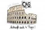 Ankunft-Rom