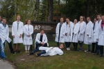 Vor der Aalto Universität