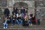 Die CFG Schüler mit ihren Gastgebern beim Sightseeing auf der Festungsinsel